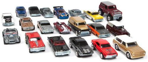 Машинка колекційна: моделі