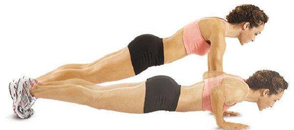 Експрес-підтяжка грудей за тиждень. Вправи для її бездоганною форми!