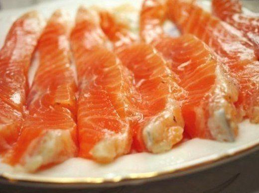 Кращий маринад для червоної риби. На смак - просто приголомшливо!