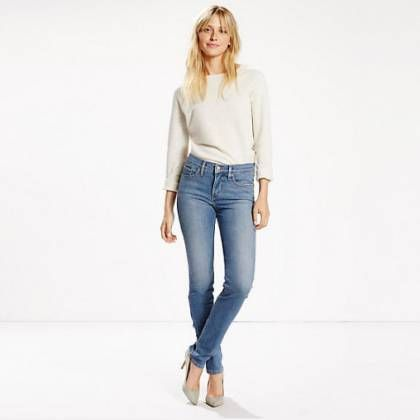 Міцні shaping slim jeans. Моделюють shaping slim jeans для стрункої фігури