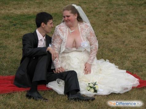 Найжахливіші весільні сукні