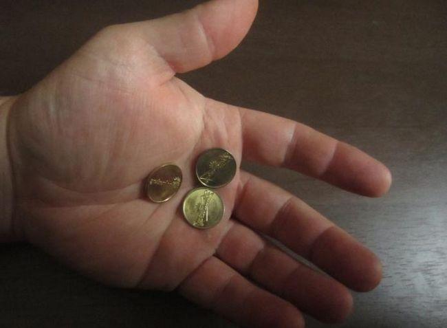 ворожіння на трьох монетах