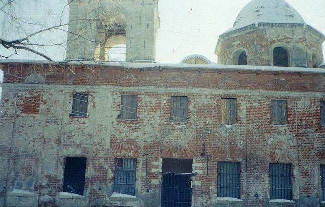 Москва храм Дев`яти мучеників Кизичеських