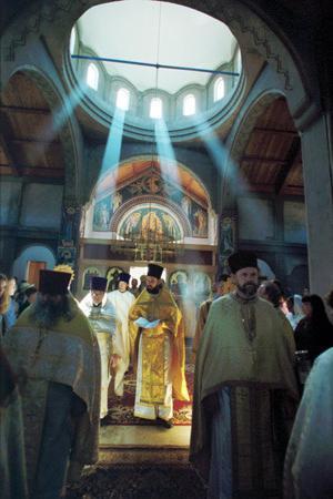 храм Серафима Саровського в раеви