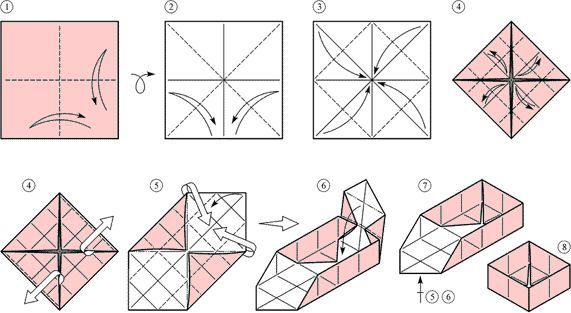 Як робити модульне орігамі