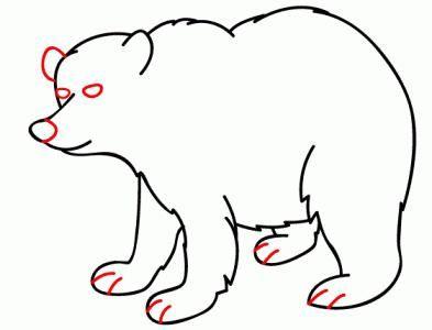 як намалювати ведмедика тедді олівцем