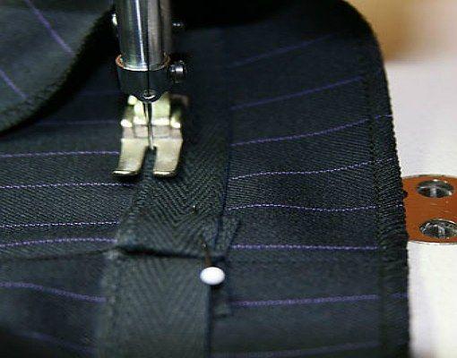 Як підшити штани за допомогою стрічки