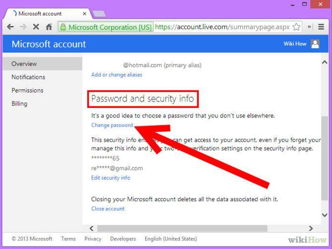 Зображення з назвою Change MSN Password Step 3