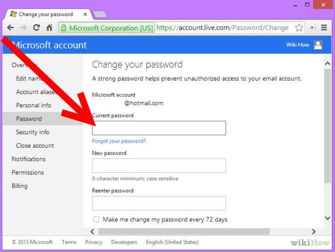 Зображення з назвою Change MSN Password Step 4