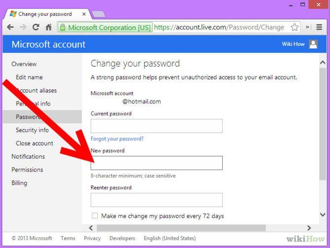 Зображення з назвою Change MSN Password Step 5