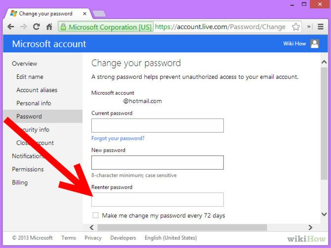 Зображення з назвою Change MSN Password Step 6