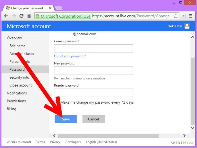 Зображення з назвою Change MSN Password Step 8