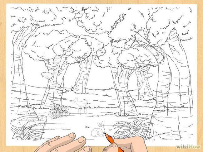Зображення з назвою Draw a Forest Step 18