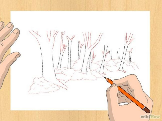Зображення з назвою Draw a Forest Step 5