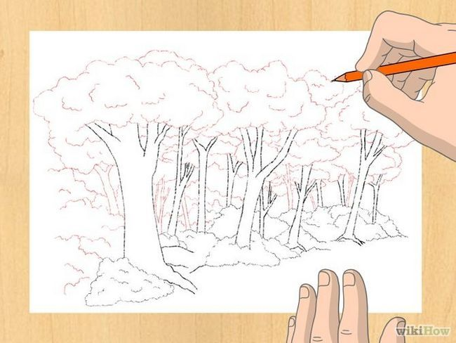 Зображення з назвою Draw a Forest Step 6