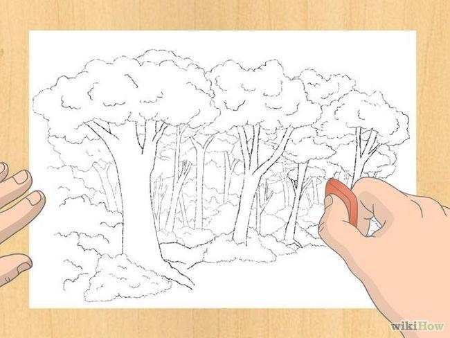 Зображення з назвою Draw a Forest Step 7