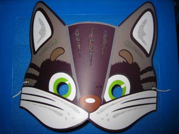 Як зробити маску кота