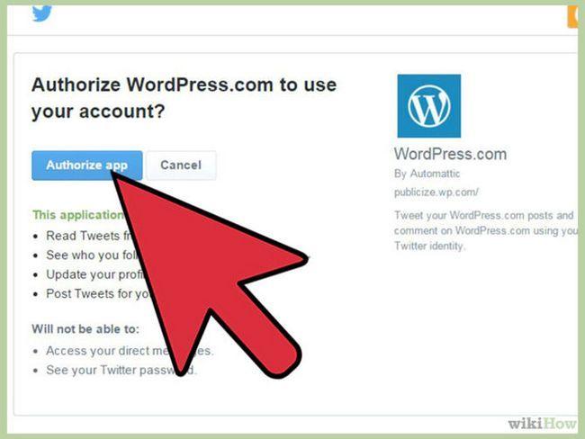 Зображення з назвою Sync WordPress and Twitter Step 5