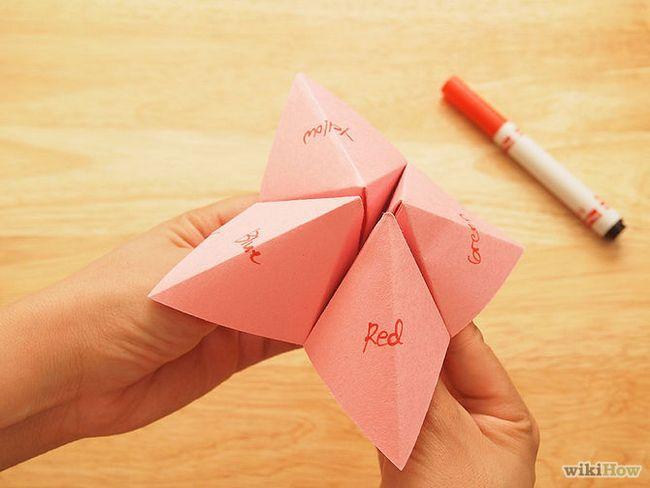Зображення з назвою Fold a Fortune Teller Step 8