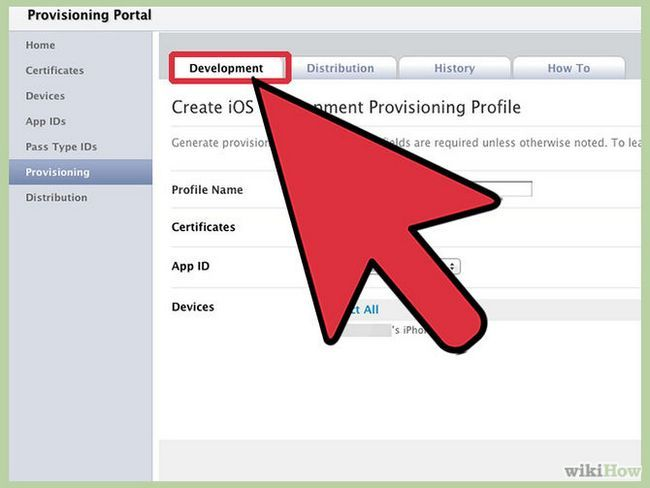 Зображення з назвою Create a Provisioning Profile for iPhone Step 2