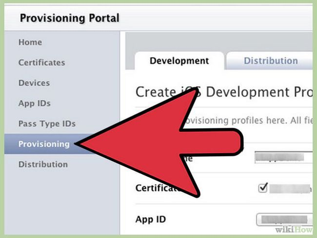 Зображення з назвою Create a Provisioning Profile for iPhone Step 3