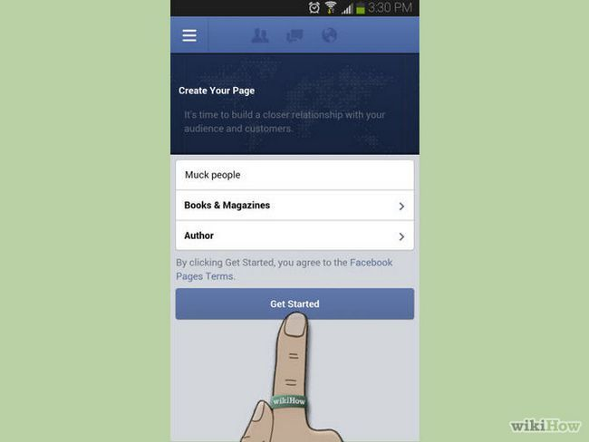 Зображення з назвою Create a Page Using Facebook Pages Manager for Android Step 4