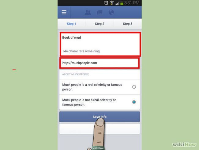 Зображення з назвою Create a Page Using Facebook Pages Manager for Android Step 5