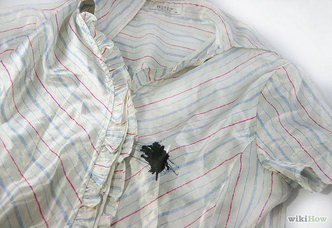 Як видалити чорнильні плями з шовкової сукні