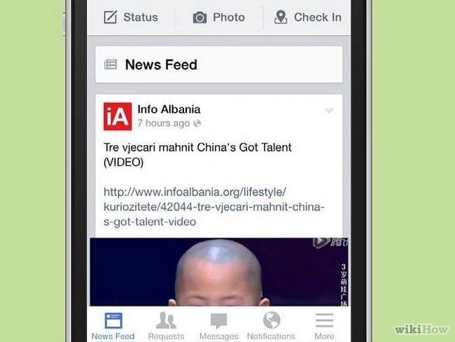 Зображення з назвою Delete Messages on Facebook Mobile Step 1