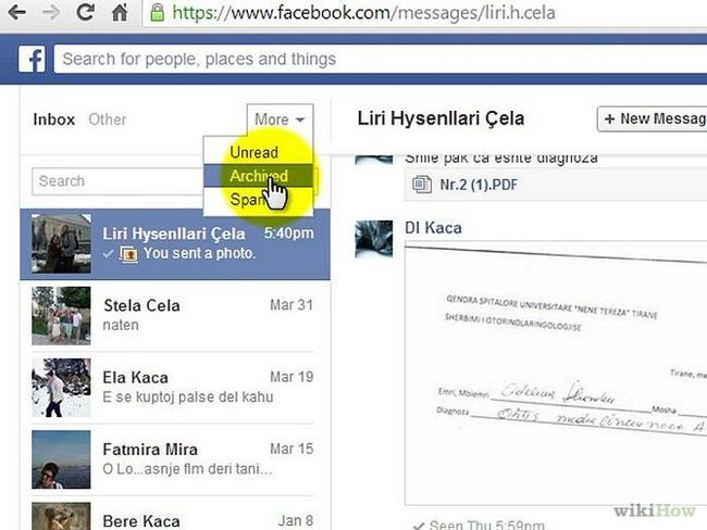 Зображення з назвою Delete Messages on Facebook Mobile Step 4