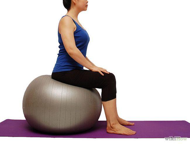 Як зміцнити квадріцепси за допомогою гімнастичного м`яча