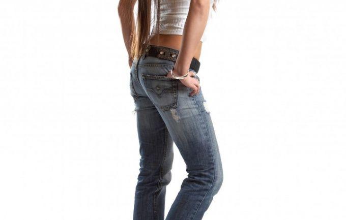 Як вшити джинси