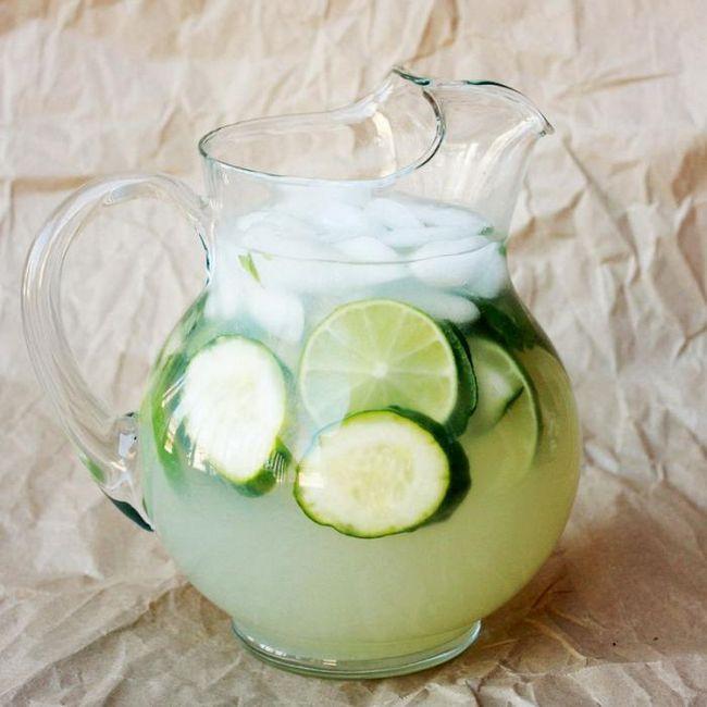 Огірковий лимонад з м`ятою