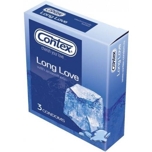 Презервативи contex long love - любов, яка нікуди не поспішає ...