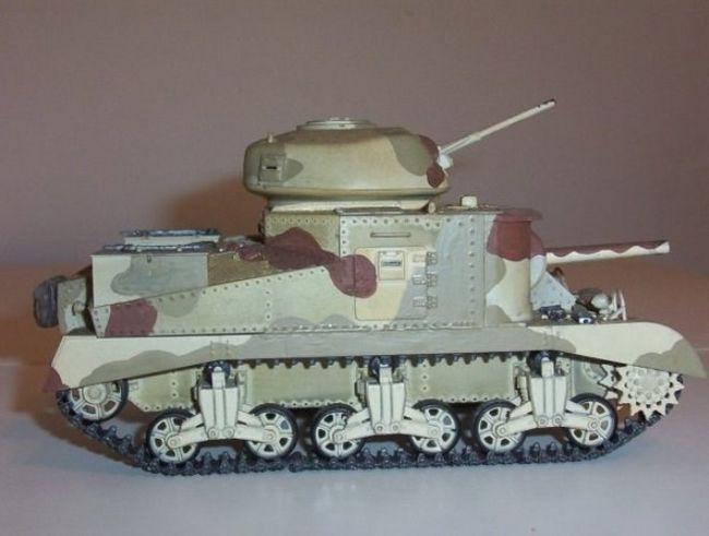 Як фарбувати моделі танків