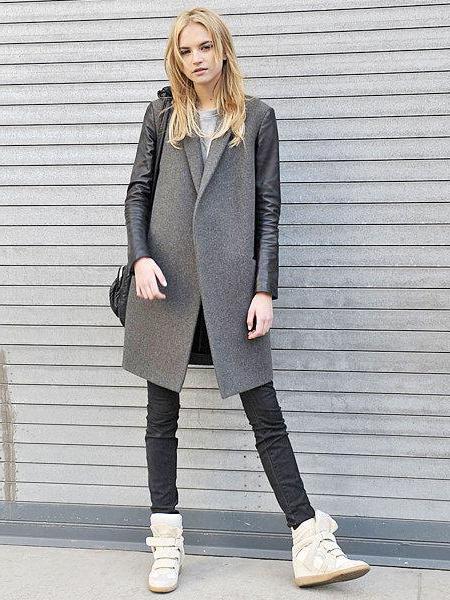Зимові снікерси жіночі. З чим носити снікерси жіночі? Фото модних жіночих снікерсів