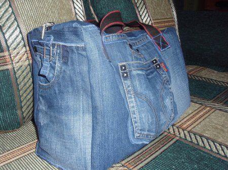 Що можна зшити зі старих джинсів, які протерлися або вийшли з моди