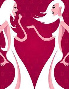 Любовний гороскоп жінки-близнюки, або