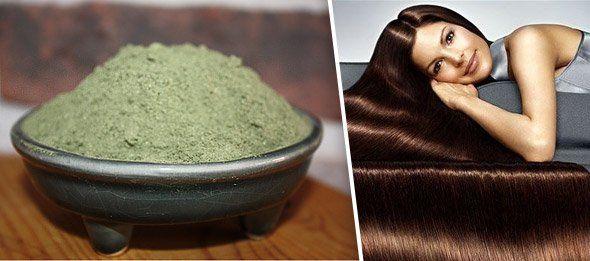 Рецепти різних масок із хни для волосся (проти випадіння та для росту)