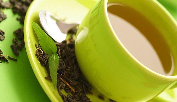 Зелений чай виліковує рак шкіри