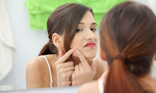Користь антибіотиків при прищах на обличчі