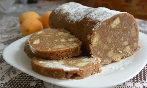 Рецепти приготування шоколадної ковбаси